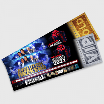 Evolution Weekend Tickets